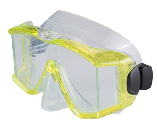 Genesis Tri View Mask Yellow
